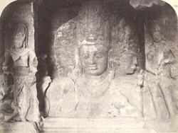 The Hindoo Triad, Elephanta, Bombay